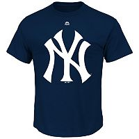 Men's Majestic New York Yankees Official Logo Tee