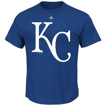 Men's Majestic Kansas City Royals Official Logo Tee
