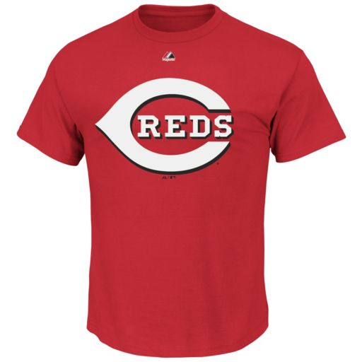 Men's Majestic Cincinnati Reds Official Logo Tee