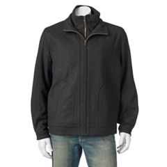 Men's Tower by London Fog Military Wool-Blend Hipster Jacket