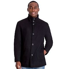 Men's Tower by London Fog Wool-Blend Car Coat