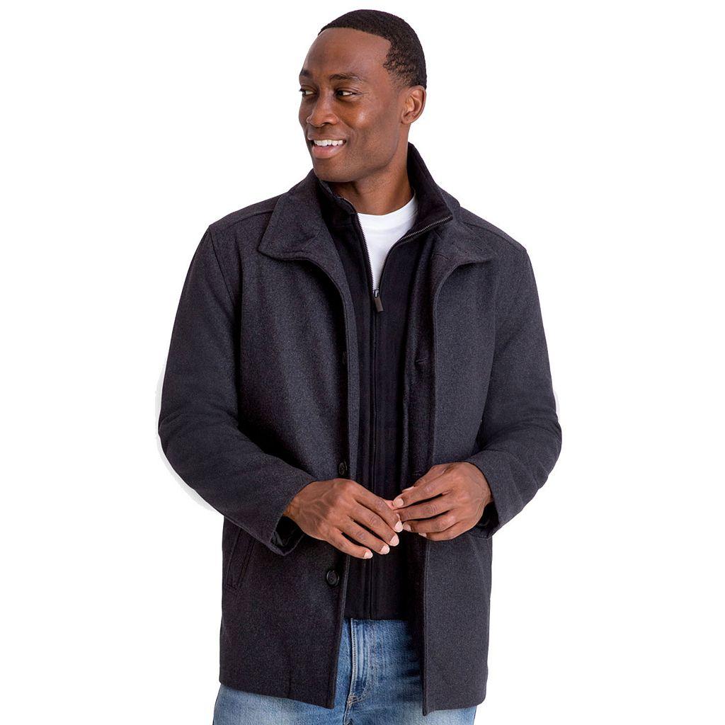 Men's Towne Wool-Blend Car Coat