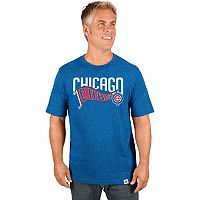 Men's Majestic Chicago Cubs Roll with the Punches Tee
