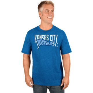 Men's Majestic Kansas City Royals Roll with the Punches Tee
