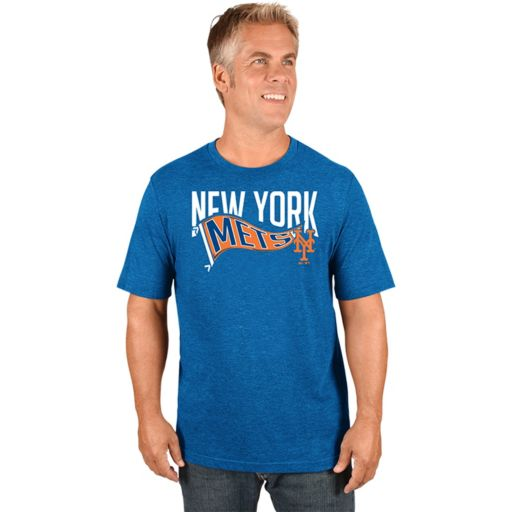 Men's Majestic New York Mets Roll with the Punches Tee