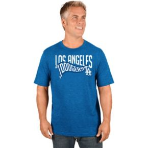 Men's Majestic Los Angeles Dodgers Roll with the Punches Tee