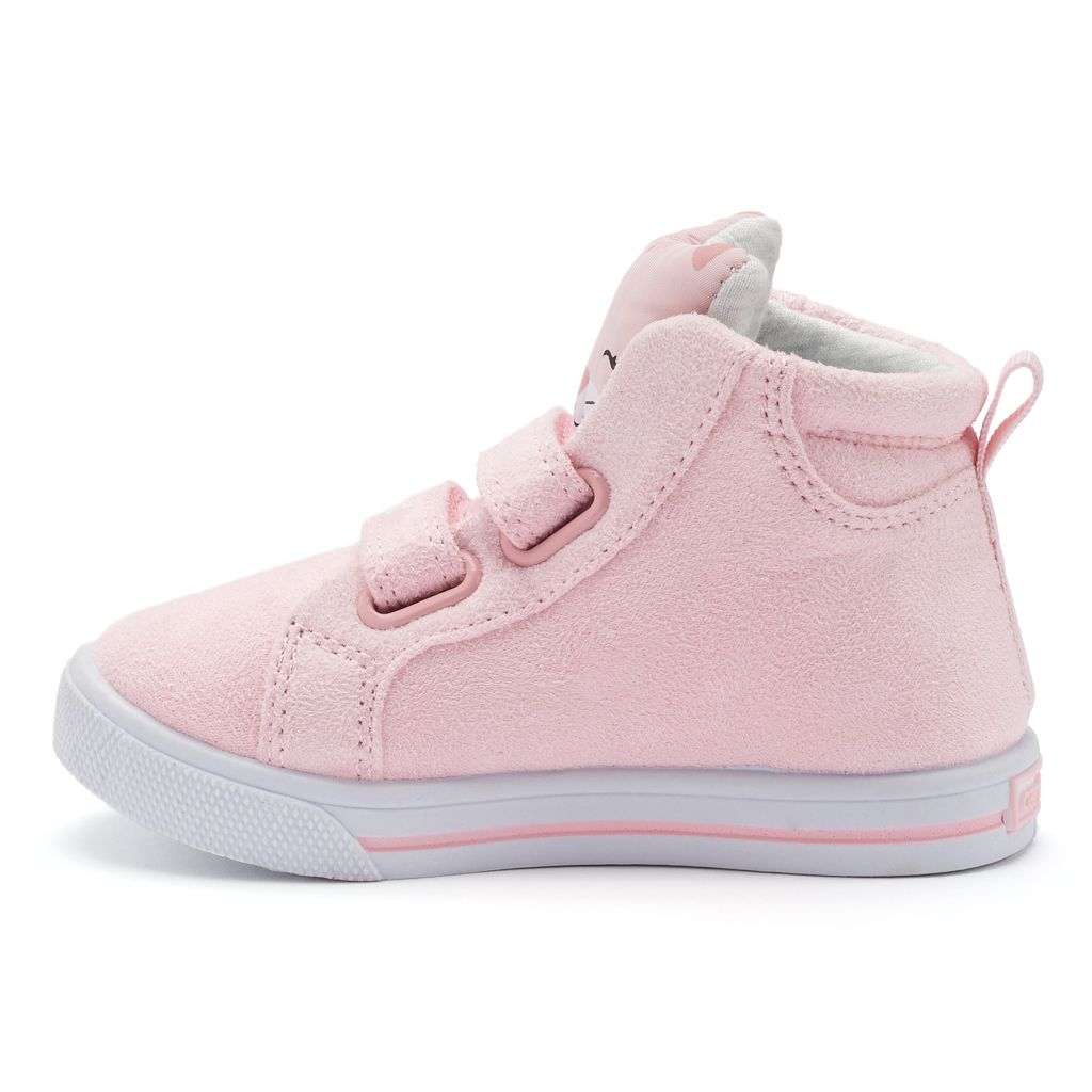 Carter's Mocha Toddler Girls' Cat High-Top Sneakers