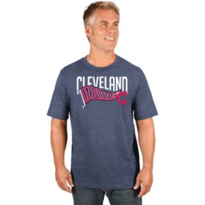 Men's Majestic Cleveland Indians Roll with the Punches Tee
