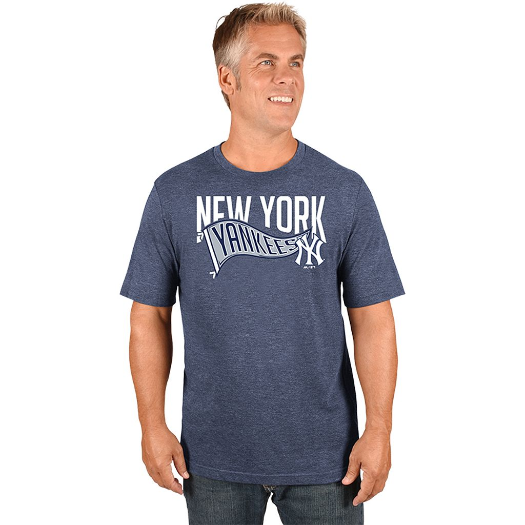 Men's Majestic New York Yankees Roll with the Punches Tee