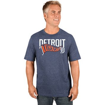 Men's Majestic Detroit Tigers Roll with the Punches Tee