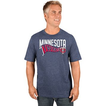 Men's Majestic Minnesota Twins Roll with the Punches Tee
