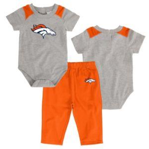 Infant Denver Broncos Ellipse Bodysuit & Pants Set
