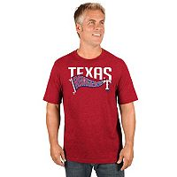 Men's Majestic Texas Rangers Roll with the Punches Tee