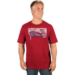 Men's Majestic Washington Nationals Roll with the Punches Tee