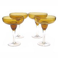 Certified InternationalBubble 4-pc. Margarita Glass Set