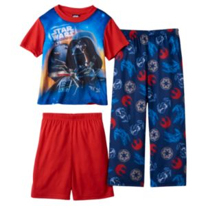 Boys 4-12 Star Wars Darth Vader 3-Piece Pajama Set