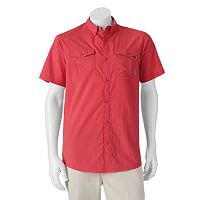 Men's Columbia Omni-Shade Glen Meadows Button-Down Shirt