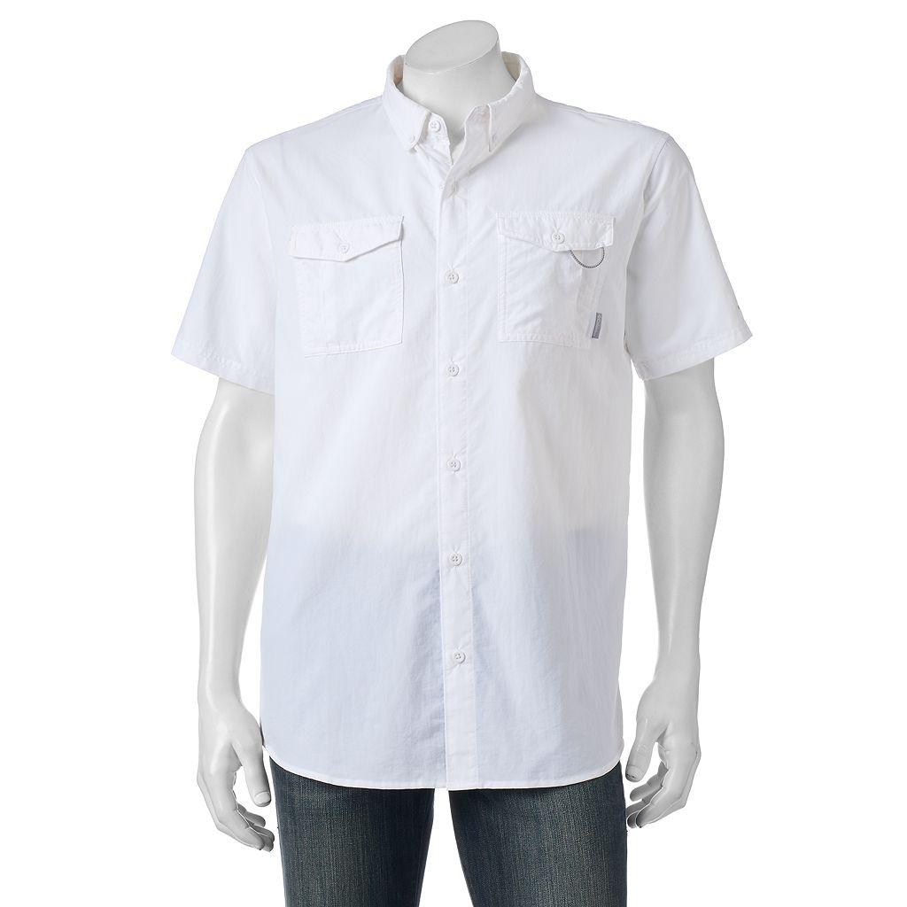 Men's Columbia Omni-Shade Glen Meadows Button-Down Shirt