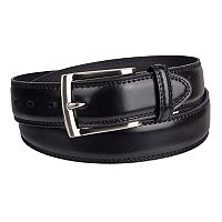 Men's Dockers® Leather Edge Double Stitch Belt