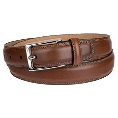 Men's Dockers Feather-Edge Stitched Belt