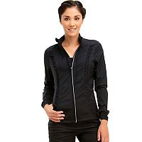 Women's Marika Shirred Workout Jacket