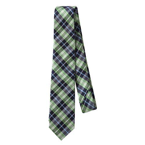 Chaps Plaid Tie - Boys