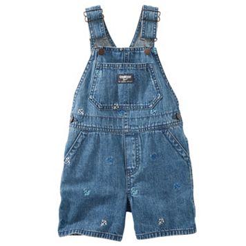 Toddler Boy OshKosh B'gosh® Anchor Embroidered Shortalls