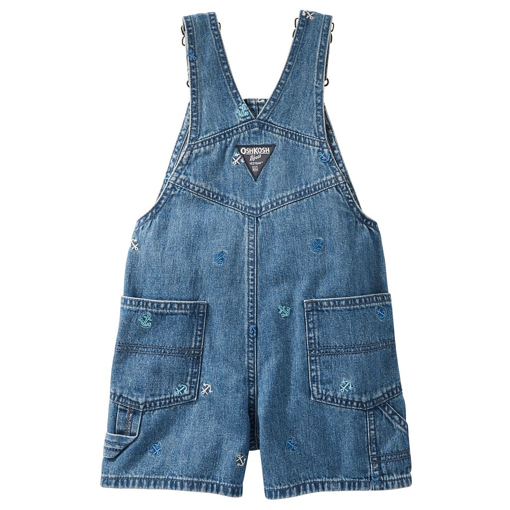 Toddler Boy OshKosh B'gosh® Anchor Embroidered Shortalls