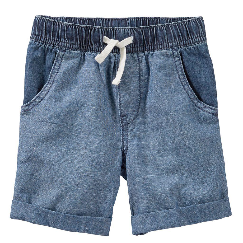 Toddler Boy OshKosh B'gosh® Denim Pull-On Shorts