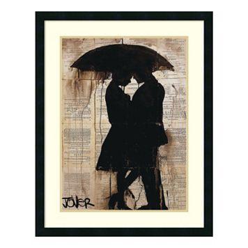 Rain Lovers Framed Wall Art