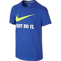 Boys 8-20 Nike Just Do It Swoosh Graphic Tee