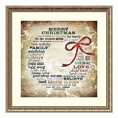Christmas Wreath Framed Wall Art