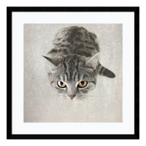 Kitty Framed Wall Art