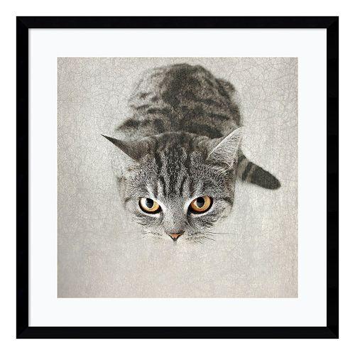 Kitty Framed Wall Art