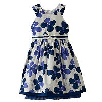 Girls 4-6x Blueberi Boulevard Floral Sundress