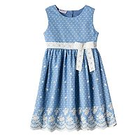 Girls 4-6x Blueberi Boulevard Polka Dot Sundress