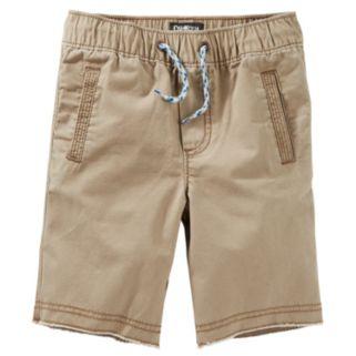 Toddler Boy OshKosh B'gosh® Brown Pull-On Canvas Shorts