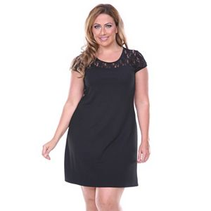 319ef1bde24 Plus Size Suite 7 Lace Fit   Flare Dress. (1). Regular