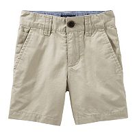 Toddler Boy OshKosh B'gosh® Brown Flat-Front Shorts