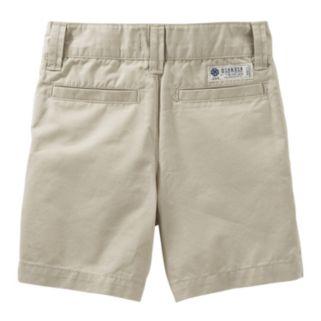Toddler Boy OshKosh B'gosh® Brown Flat-Front Shorts
