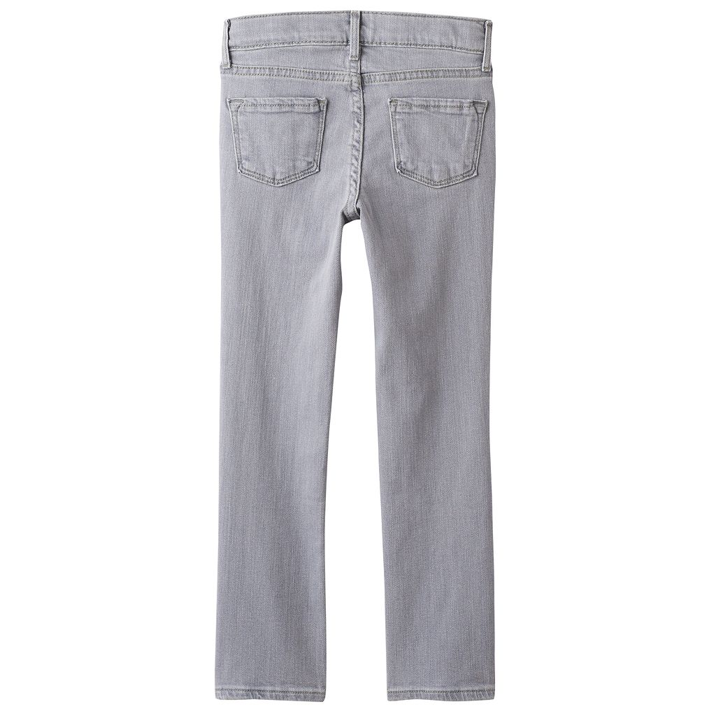 Girls 4-10 SONOMA Goods for Life™ Gray Skinny Jeans