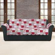 Sure Fit Heirloom Cottage Patchwork Sofa Slipcover