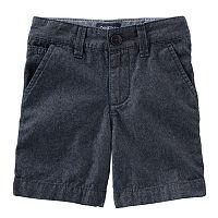 Toddler Boy OshKosh B'gosh® Flat-Front Chambray Shorts