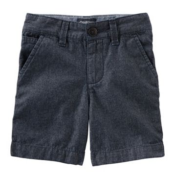 Toddler Boy OshKosh B'gosh® Flat-Front Chambray Shorts