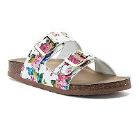 madden NYC Breckk Women's Footbed Sandals