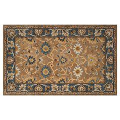 Safavieh Heritage Torun Framed Floral Wool Rug