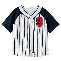 Toddler Boy OshKosh B'gosh® Striped Baseball Top