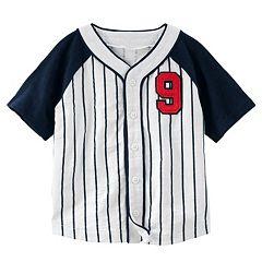 Toddler Boy OshKosh B'gosh® Striped Baseball Top