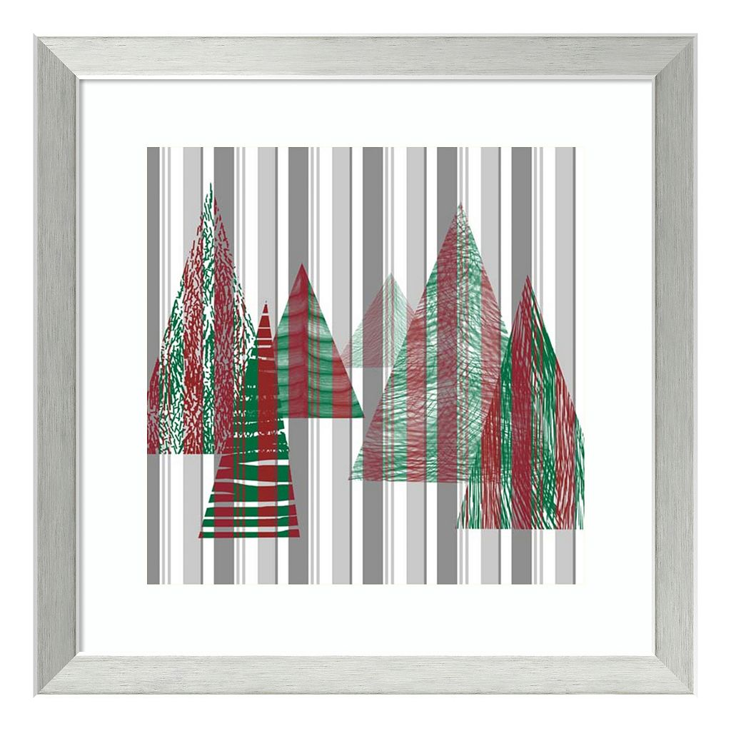 Oh Christmas Tree II Framed Wall Art