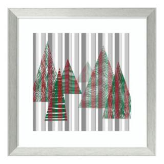 Oh Christmas Tree II Framed Wall Art